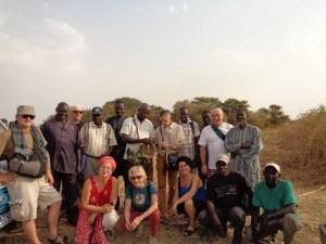 Les membres de l'APAF et GAS en visite de jardins